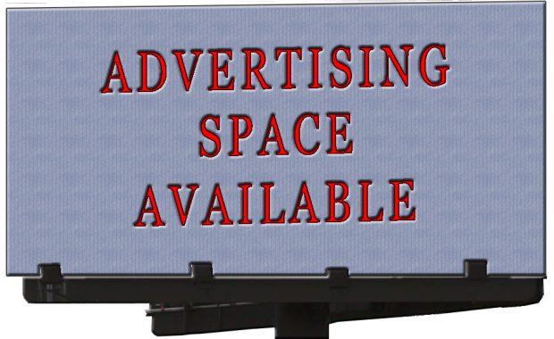 Advertising Space Billboard