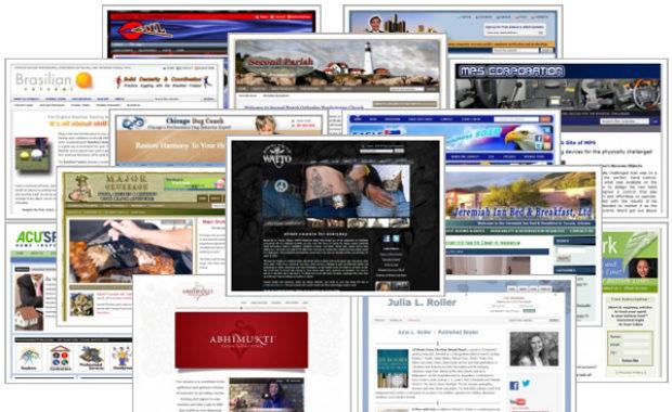 WordPress Theme Design Collage