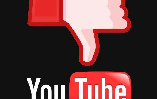 Youtube Thumbs Down