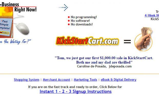 Kick Start Cart