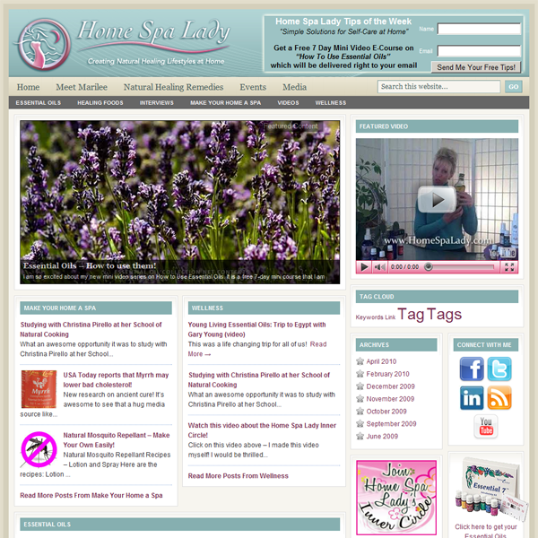 WordPress Genesis Framework Website