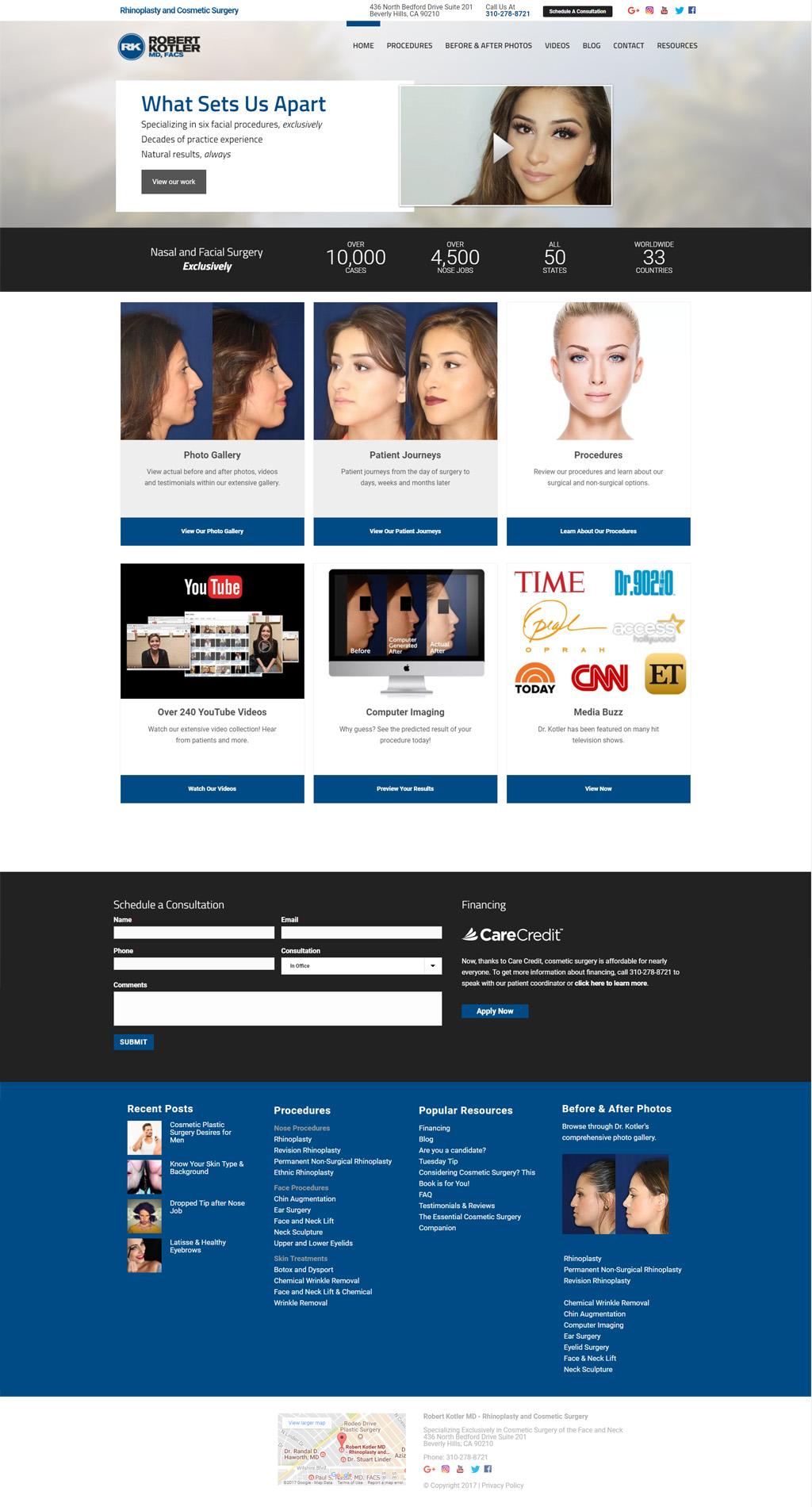 WordPress SEO and Marketing Project