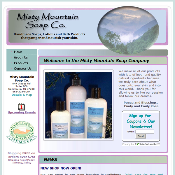 Misty Mountain Soap